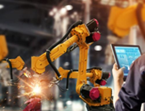 Industry 4.0: The next revolution in industry in general and specifically manufacturing.